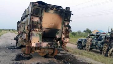 Boko Haram Attacks Nigerian Military Convoy, Carts Away Equipments And N15 Million Meant For Soldier 3