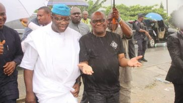 """No Mosque Was Demolished In Rivers"" - Fayemi Says After Going On Site Tour With Wike 5"