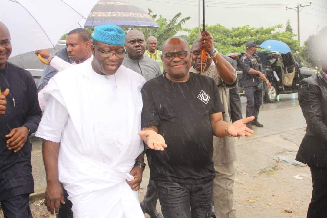 """""""No Mosque Was Demolished In Rivers"""" - Fayemi Says After Going On Site Tour With Wike 1"""