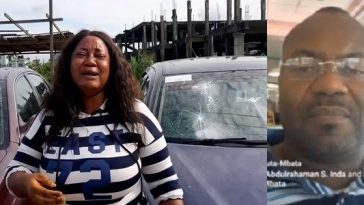 Former Senator, John Azuta-Mbata Destroys Cars Given To A Single Mother To Sell [Video] 6