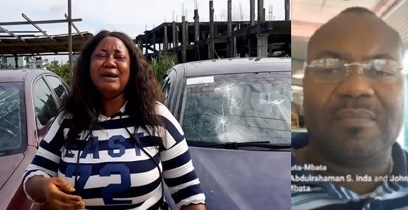 Former Senator, John Azuta-Mbata Destroys Cars Given To A Single Mother To Sell [Video] 1