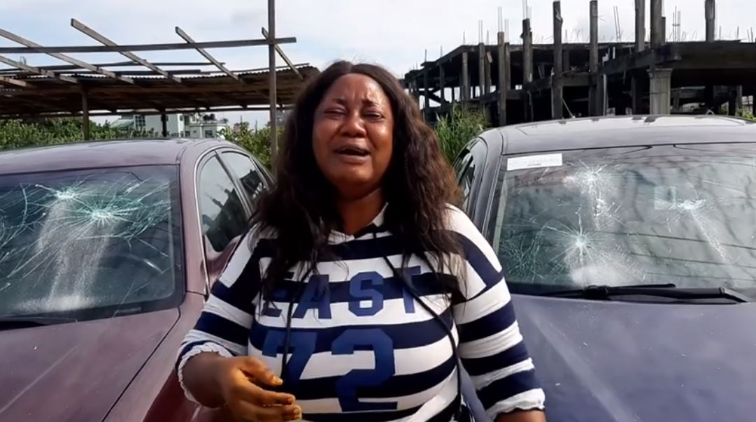 Former Senator, John Azuta-Mbata Destroys Cars Given To A Single Mother To Sell [Video] 2