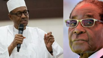 Africa Owes Debt Of Gratitude To Mugabe, He Made Us Feel At Home In Zimbabwe - Buhari 3