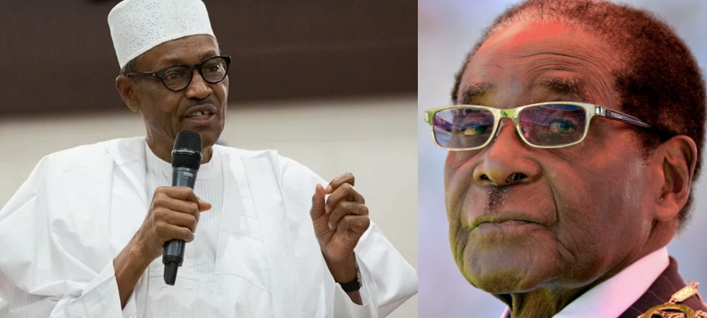 Africa Owes Debt Of Gratitude To Mugabe, He Made Us Feel At Home In Zimbabwe - Buhari 1