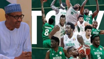 President Buhari Congratulates D'Tigers For Beating China To Qualify For Olympics 2020 2