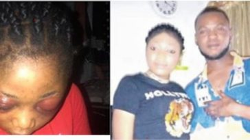 Jealous Unemployed Man Beat His Girlfriend Mercilessly For Not Quitting Her Job In Lagos 6