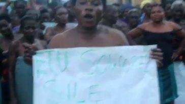 RevolutionNow: Unclad Ijaw Urhobo Women Protest Sowore's Detention [Video] 15
