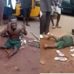 Dwarf Beaten Mercilessly Over Missing Penis After He Shook Hands With A Man In Enugu [Video] 27