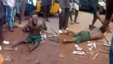 Dwarf Beaten Mercilessly Over Missing Penis After He Shook Hands With A Man In Enugu [Video] 8