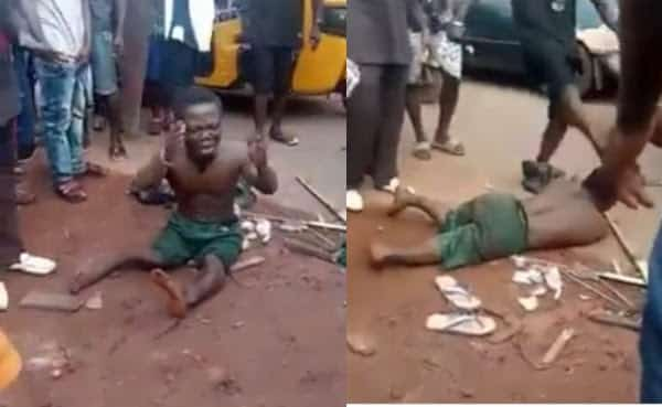 Dwarf Beaten Mercilessly Over Missing Penis After He Shook Hands With A Man In Enugu [Video] 1