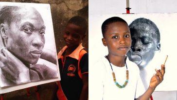 11-Year-Old Nigerian Artist, Kareem Beats 2,723 Candidates To Win Top Taiwanese Award 2
