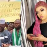Angry Nigerian Youths Stages Protest Against Bobrisky, Say His Behaviour Is Ungodly [Video] 8