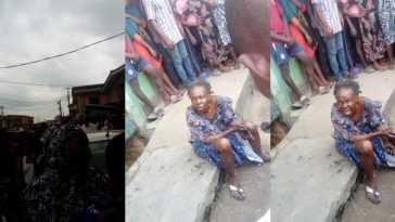 Oworonshoki Residents Claims A Bird Turned Into This Elderly Woman In Lagos [Video] 7