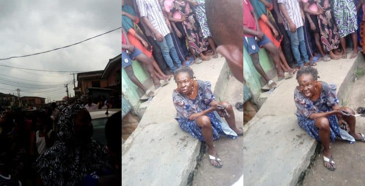 Oworonshoki Residents Claims A Bird Turned Into This Elderly Woman In Lagos [Video] 1