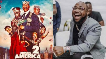 """Davido Set To Appear In Forthcoming Hollywood Movie """"Coming To America 2"""" 3"""