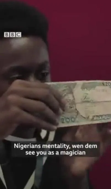Meet Babs Cardini, 19-Year-Old Nigerian Magician Who Turns 'Objects Into Money' [Video] 2