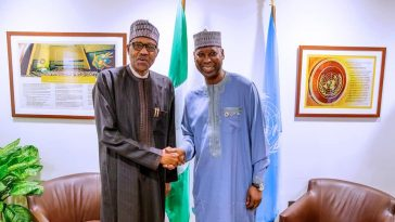 """You Bear Heavy Weight On Your Shoulders,"" Buhari Tells UNGA President, Muhammad-Bande 14"