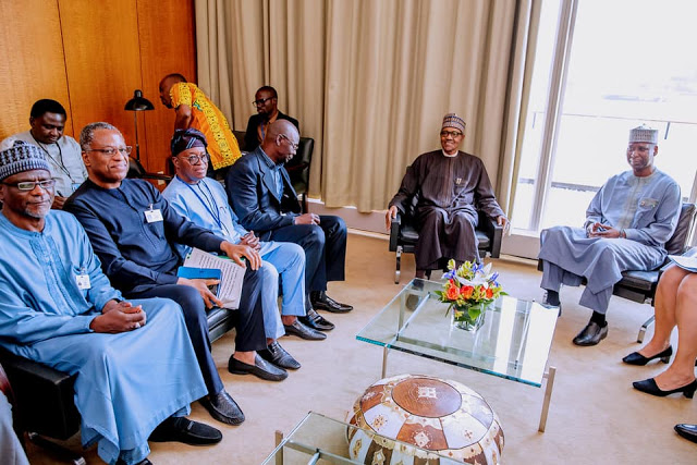 """You Bear Heavy Weight On Your Shoulders,"" Buhari Tells UNGA President, Muhammad-Bande 2"