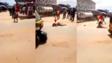 Lady Allegedly Runs Mad After Alighting From A Mercedes G-Wagon In Anambra [Video] 7