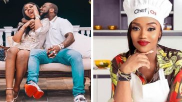 Davido's Pregnant Fiancée, Chioma Spotted Shopping For Baby Boy's Clothing [Photo] 4