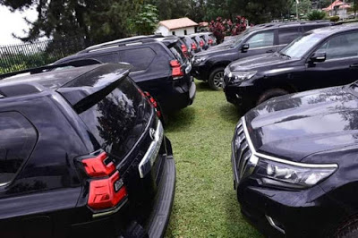 Governor Akeredolu Buys 16 Brand New Toyota Prado Jeep For All Judges In Ondo [Photos] 3