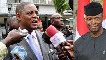 Resign As Vice President, Then Fight Timi Frank 'Man To Man' – Fani-Kayode Mocks Osinbajo 9