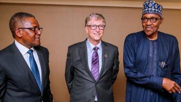 PHOTOS: President Buhari Meets Bill Gates, Dangote At UN General Assembly In New York 12