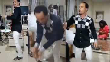 Watch Prophet Chukwuemeka Ohanaemere Dancing 'Zanku' To Olamide's Pawon [Video] 2