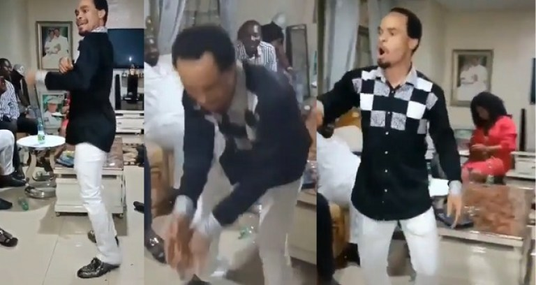 Watch Prophet Chukwuemeka Ohanaemere Dancing 'Zanku' To Olamide's Pawon [Video] 1