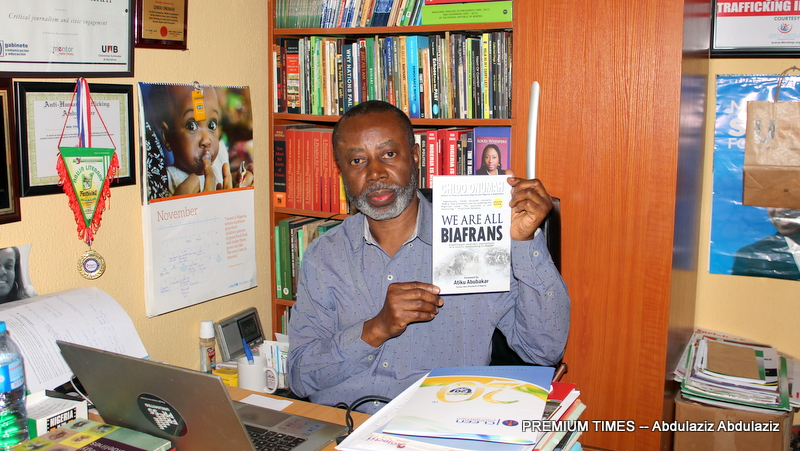 Activist Chido Onumah Released After Being Arrested For Wearing 'We Are All Biafrans' T-Shirt 2