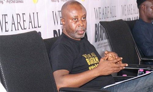 Activist Chido Onumah Released After Being Arrested For Wearing 'We Are All Biafrans' T-Shirt 1