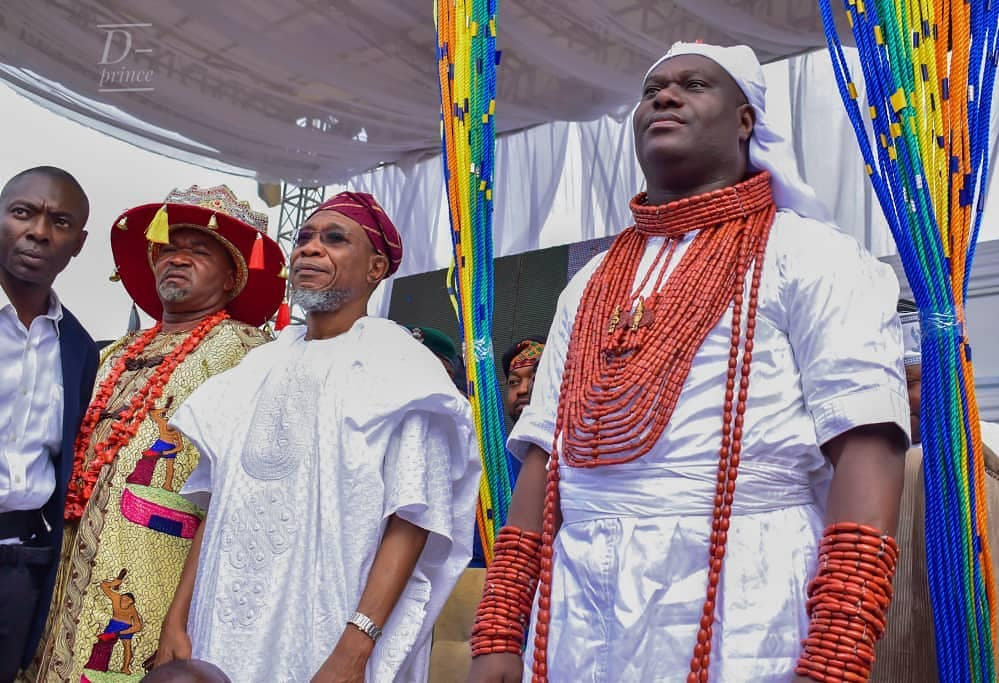 Ooni Of Ife And His Prophetess Wife Worship Idols At The Olojo Festival In Osun [Photos] 14