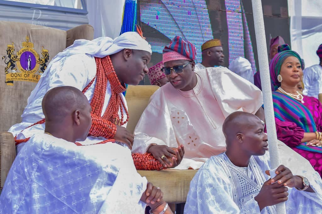 Ooni Of Ife And His Prophetess Wife Worship Idols At The Olojo Festival In Osun [Photos] 16