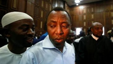 Sowore Pleads Not Guilty To Charges Of Treason, Remanded Tn DSS Custody Till Thursday 6