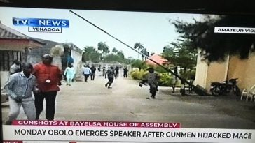Bayelsa Speaker Impeached As Gunmen Invades House Of Assembly, Steals Mace [Video] 10