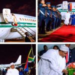 President Buhari, 10 Governors And Ministers Arrives South Africa For Three-Day Visit 27