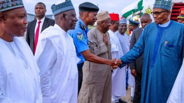 President Buhari Returns To Nigeria After 2 Days Visit To South Africa [Photos] 6