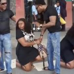 Nigerian Lady Publicly Goes Down On Her Knees, Begs Boyfriend Of 7 Years To Marry Her [Video] 28