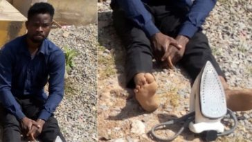 Pastor Arrested For Brutally Torturing 10-Year-Old Boy With A Hot Electric Iron In Gombe 1