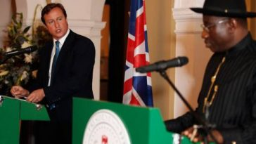 """We Located Chibok Girls But Jonathan Didn't Allow Us Rescue Them"" - David Cameron 2"