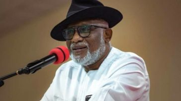 Ondo Governor, Akeredolu Calls For Restructuring Of Nigeria To Unlock Its Full Potential 12