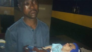 Man Caught Sneaking Into Nursing Mother's Room To Steal Her 2 Months Old Baby In Ogun 5