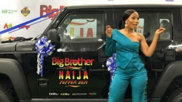 2019 BBNaija Winner, Mercy Receives N25M SUV, Becomes Ambassador Of Innoson Motors 5