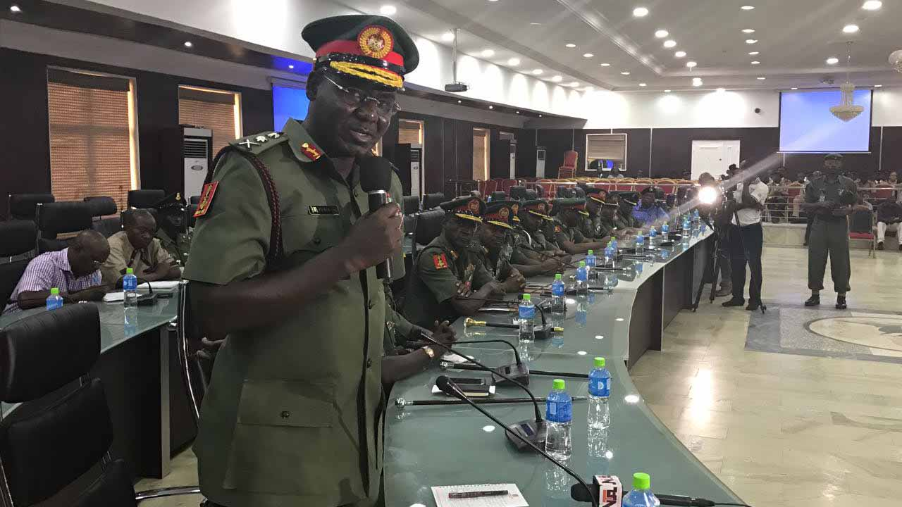 Army To Demand ID Cards From Nigerians As 'Operation Positive Identity' Begins 1