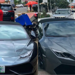 Lamborghini Huracan Spyder stolen in Switzerland reportedly spotted in Ghana with Nigerian Number Plate. 28