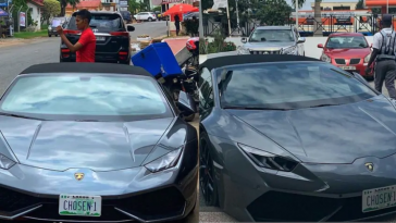 Lamborghini Huracan Spyder stolen in Switzerland reportedly spotted in Ghana with Nigerian Number Plate. 4
