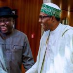 President Buhari Hosts Ex-President Goodluck Jonathan In Close Door Meeting [Photos] 8