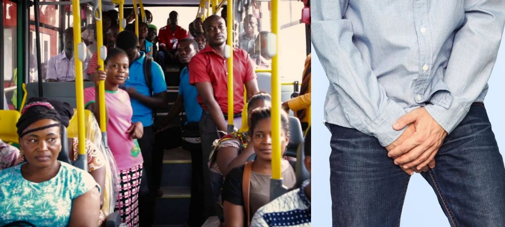 Woman Escapes Being Lynched Over Snatching Manhood Of 3 Men Inside Lagos BRT Bus 1