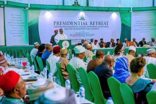 Buhari Orders Immediate Suspension Of International Travel For All Cabinet Members 1