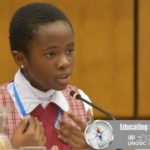 11-Year-Old Naomi Oloyede Gets Standing Ovation After Speech On Corruption In Austria [Video] 28